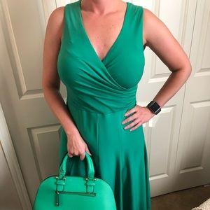 Ralph Lauren Green Dress - Size 8